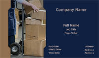 Moving & Storage Business Card Template